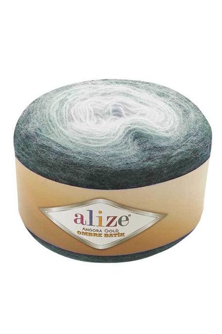 ALİZE - ALİZE ANGORA GOLD OMBRE BATİK 7230