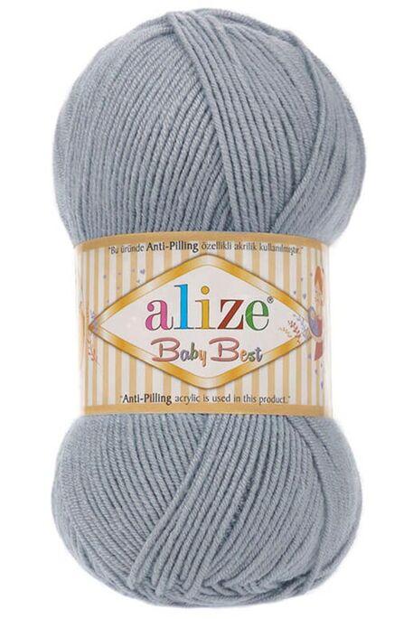 ALİZE - ALİZE BABY BEST 119 Gümüş Gri