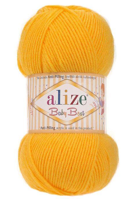 ALİZE - ALİZE BABY BEST 216 Koyu Sarı