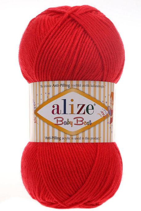 ALİZE - ALİZE BABY BEST 56 Kırmızı
