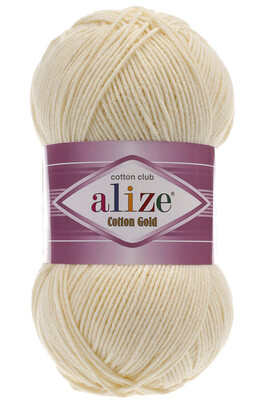 ALİZE - ALİZE COTTON GOLD 01 Krem