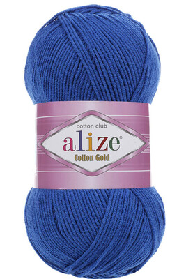 ALİZE - ALİZE COTTON GOLD 141 Saks Mavi