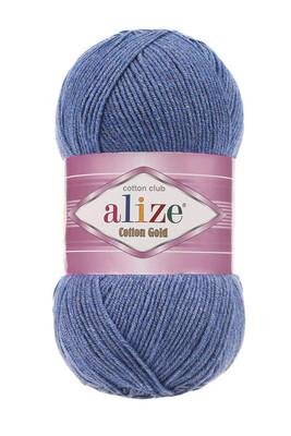 ALİZE - ALİZE COTTON GOLD 374 Mavi Melanj