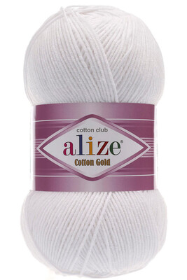 ALİZE - ALİZE COTTON GOLD 55 Beyaz
