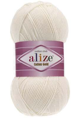 ALİZE - ALİZE COTTON GOLD 62 Açık Krem