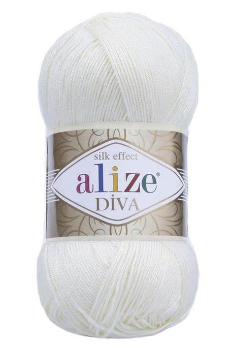 ALİZE - ALİZE DİVA 1055 Şeker Beyazı