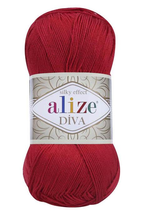 ALİZE - ALİZE DİVA 106 Kırmızı