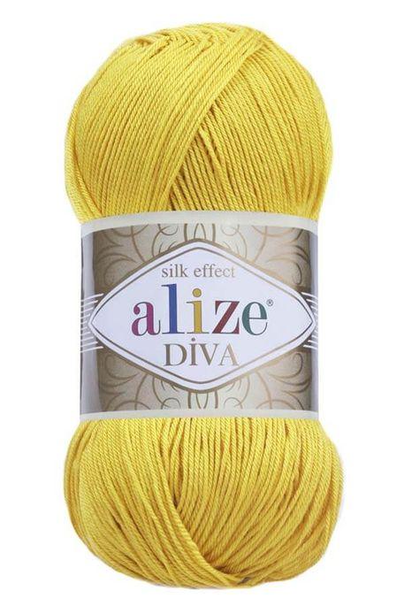 ALİZE - ALİZE DİVA 110 Sarı