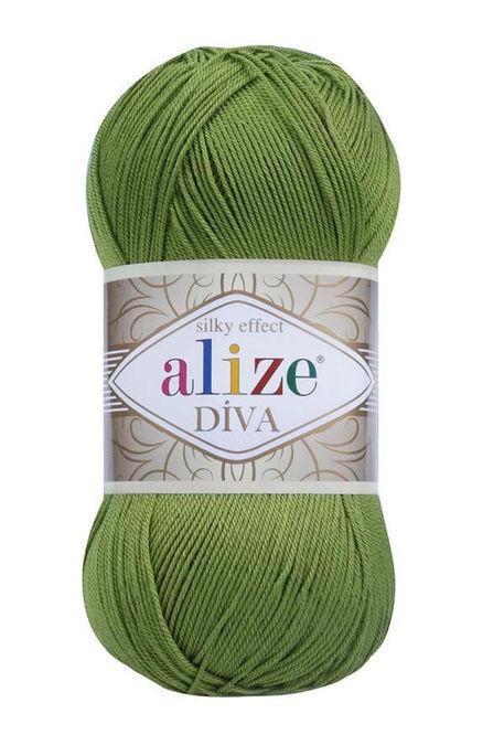 ALİZE - ALİZE DİVA 210 Yeşil