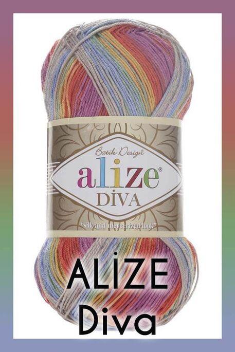 ALİZE - ALİZE DİVA BATİK 3242