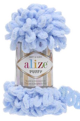 ALİZE - ALİZE PUFFY 183 Açık Mavi