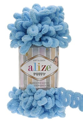 ALİZE - ALİZE PUFFY 287 Turkuaz