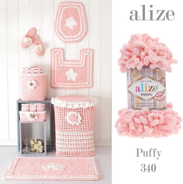 ALİZE PUFFY 340 Pudra