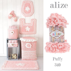 ALİZE PUFFY 340 Pudra - Thumbnail