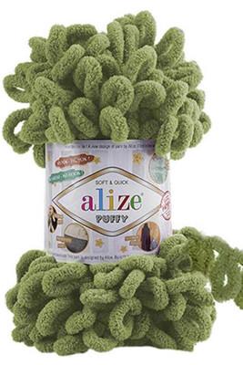 ALİZE - ALİZE PUFFY 485 Yaprak Yeşili