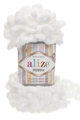 ALİZE - ALİZE PUFFY 55 Beyaz