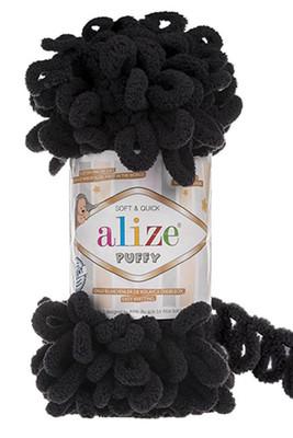 ALİZE - ALİZE PUFFY 60 Siyah