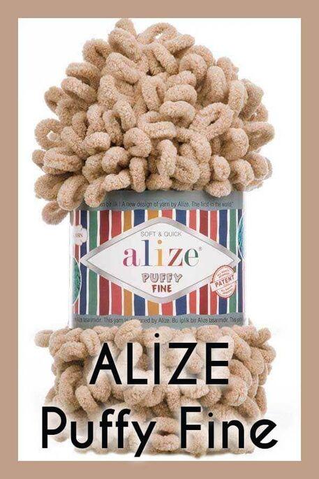 ALİZE - ALİZE PUFFY FİNE 415 ÇÖL KUMU