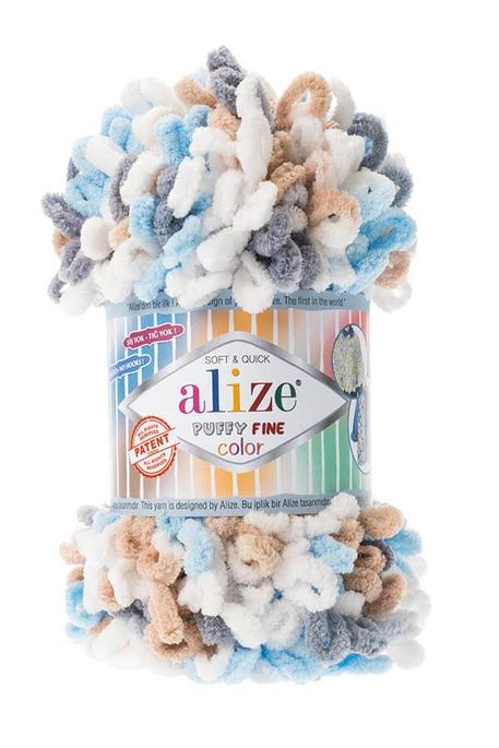 ALİZE - ALİZE PUFFY FINE COLOR 5946