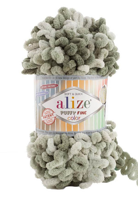 ALİZE - ALİZE PUFFY FINE COLOR 6065