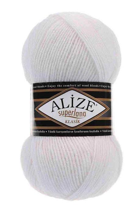 ALİZE - ALİZE SÜPERLANA KLASİK 55 Beyaz