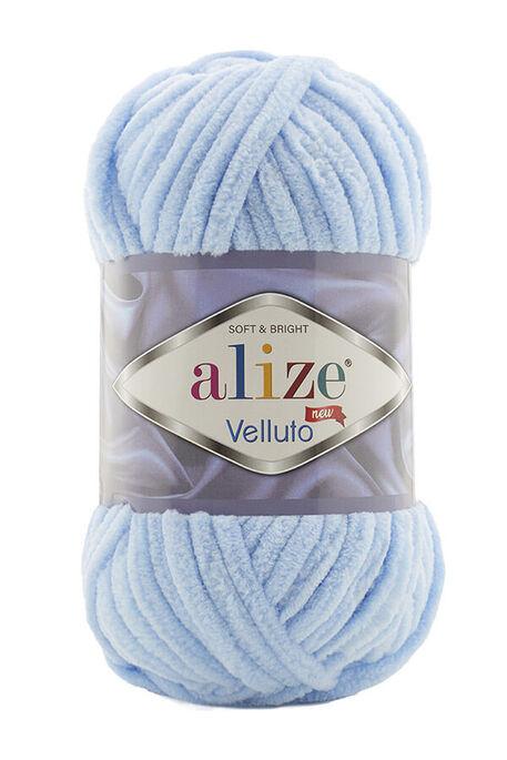 ALİZE - ALİZE VELLUTO 218 Bebe Mavi