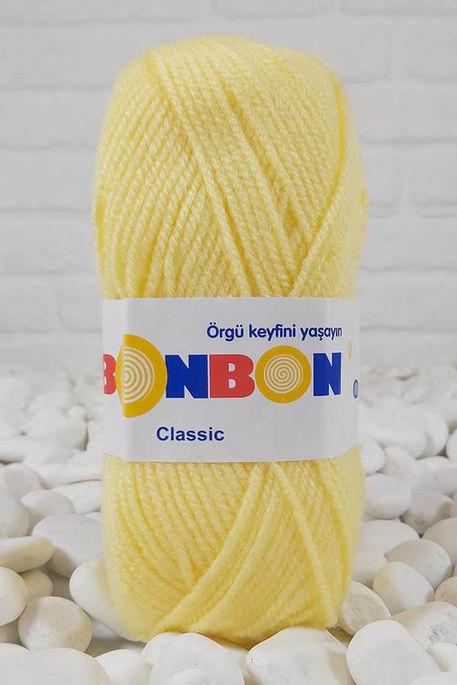 BONBON - BONBON KLASİK 98595 Tatlı Sarı