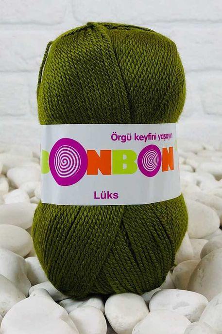 BONBON - BONBON LÜKS 98687 Kına Yeşili