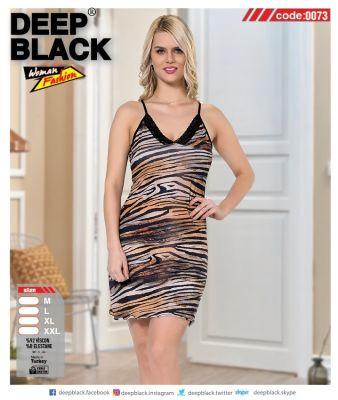 DEEP BLACK - DEEP BLACK 0073 İP ASKILI TUNİC