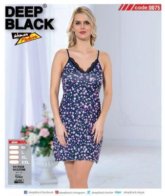 DEEP BLACK - DEEP BLACK 0075 İP ASKILI TUNİC