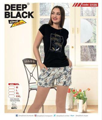 DEEP BLACK - DEEP BLACK 0109 ATLET & ŞORT TAKIM