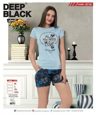DEEP BLACK - DEEP BLACK 0110 ATLET & ŞORT TAKIM