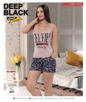 DEEP BLACK - DEEP BLACK 0113 ATLET & ŞORT TAKIM