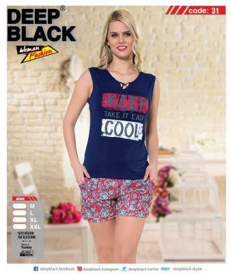 DEEP BLACK - DEEP BLACK 31 ATLET & ŞORT TAKIM