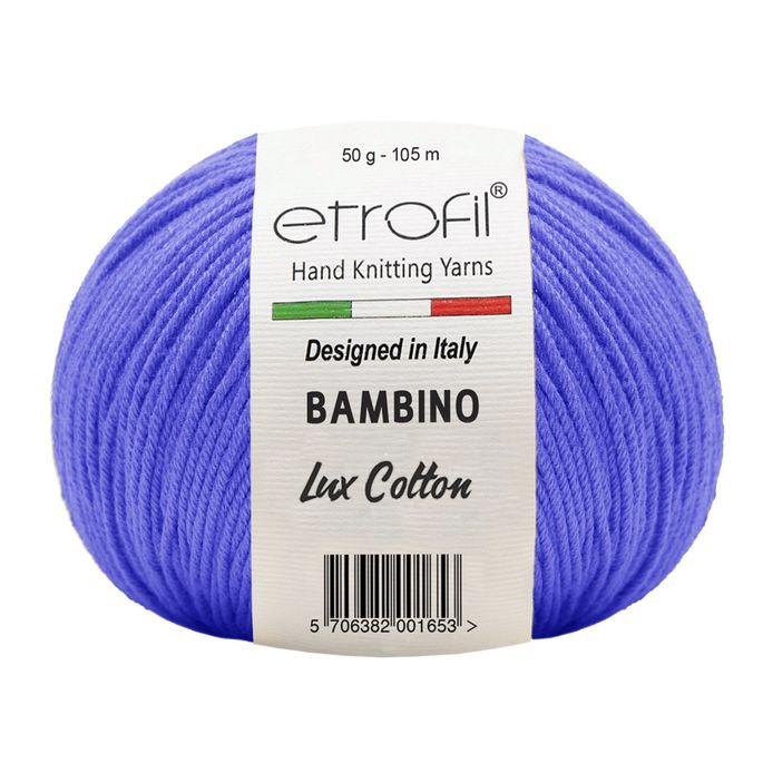 ETROFİL - ETROFİL BAMBİNO LUX COTTON 70525 Saks Mavi