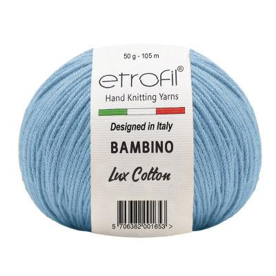 ETROFİL - ETROFİL BAMBİNO LUX COTTON 70528 Açık Mavi