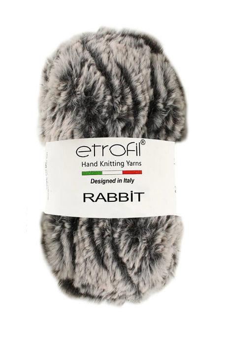 ETROFİL - ETROFİL RABBIT 70714 Gri kahve