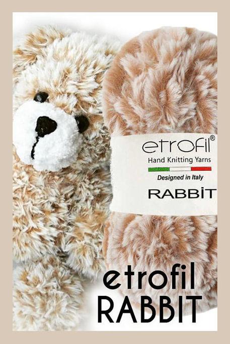 ETROFİL - ETROFİL RABBIT 70715 Camel beyaz
