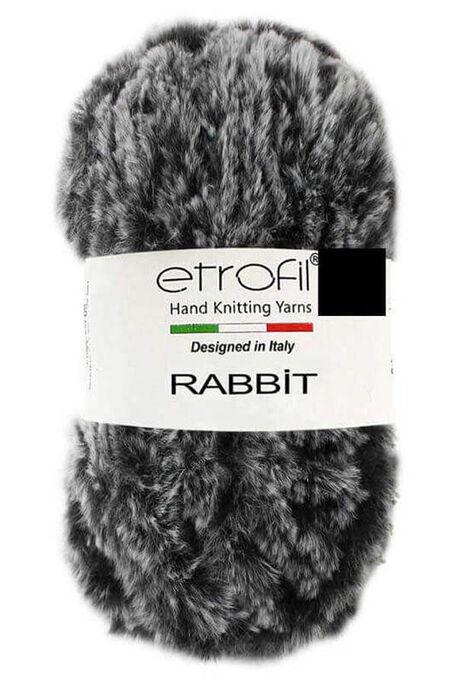 ETROFİL - ETROFİL RABBIT 70907 Gri siyah