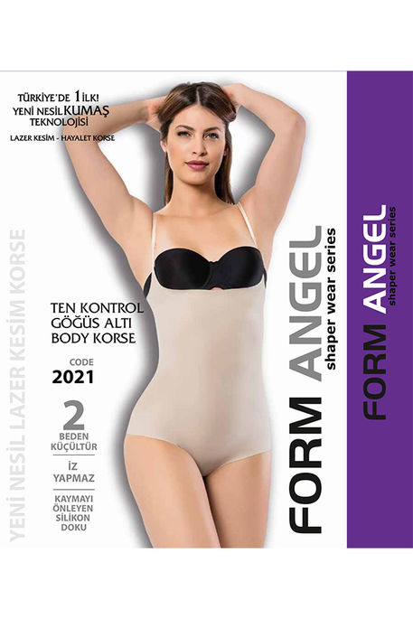 FORM ANGEL - FORM ANGEL 2021 GÖĞÜS ALTI BODY KORSE LAZER KESİM