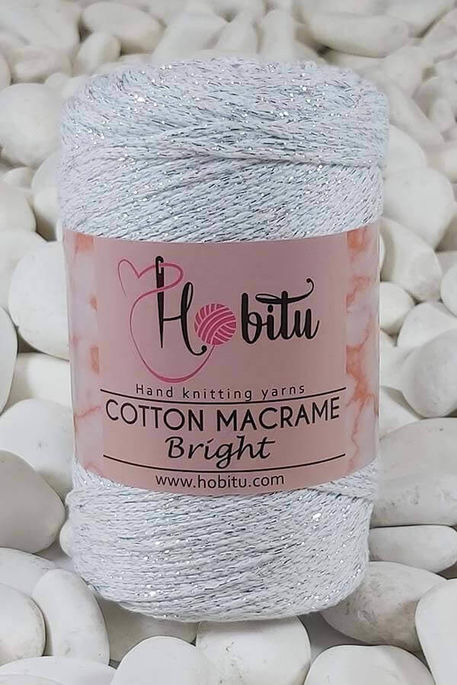 HOBİTU YARNS - HOBİTU COTTON MACRAME BRİGHT 120