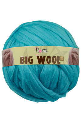 HOBİTU YARNS - HOBİTU BIG WOOL 1000 GR 04 Turkuaz