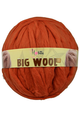 HOBİTU YARNS - HOBİTU BIG WOOL 1000 GR 09 Taba