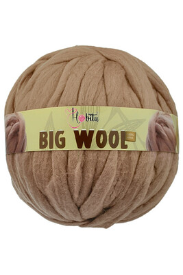 HOBİTU YARNS - HOBİTU BIG WOOL 1000 GR 10 Vizon