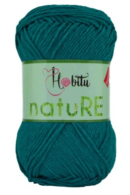 HOBİTU YARNS - HOBİTU NATURE 189 PETROL