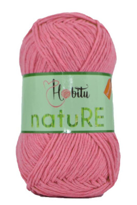 HOBİTU YARNS - HOBİTU NATURE 302 PEMBE
