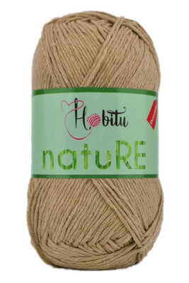 HOBİTU YARNS - HOBİTU NATURE 308 KAMEL