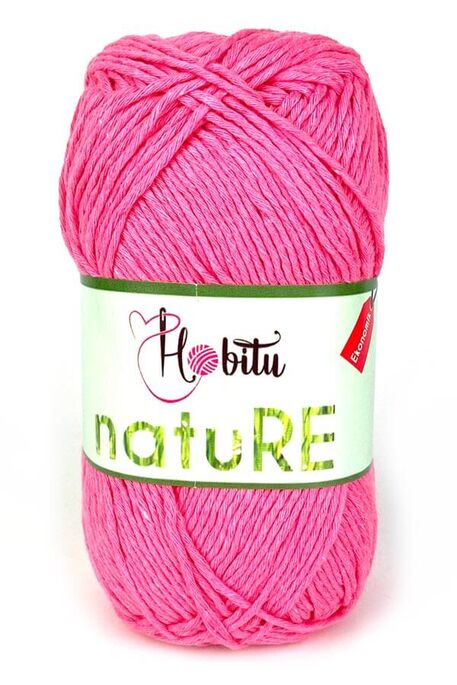 HOBİTU YARNS - HOBİTU NATURE 309 PEMBE