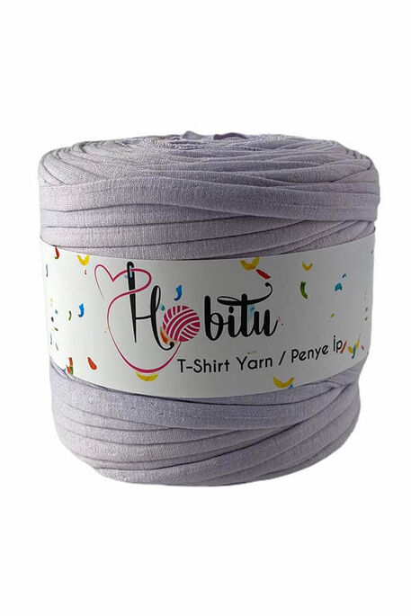 HOBİTU YARNS - HOBİTU PENYE İP T-SHİRT YARN 5090 Soft Lila