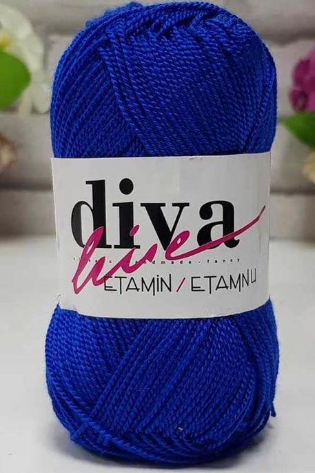 DİVA - ETAMİN İŞ ORLONU 19 Saks Mavi